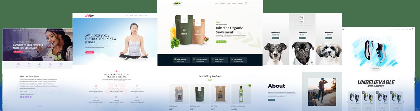 Webdesign mit Homepages Beispiele