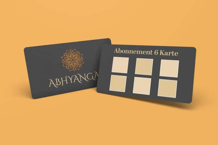 Abonnement Karten