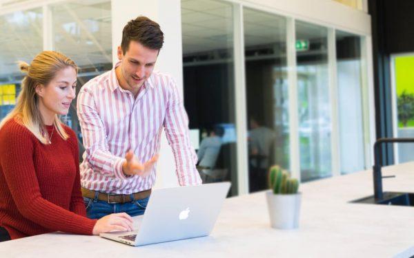 Online-Marketing Konzept und Ideen besprechen